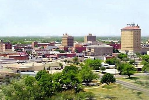 San Angelo skyline